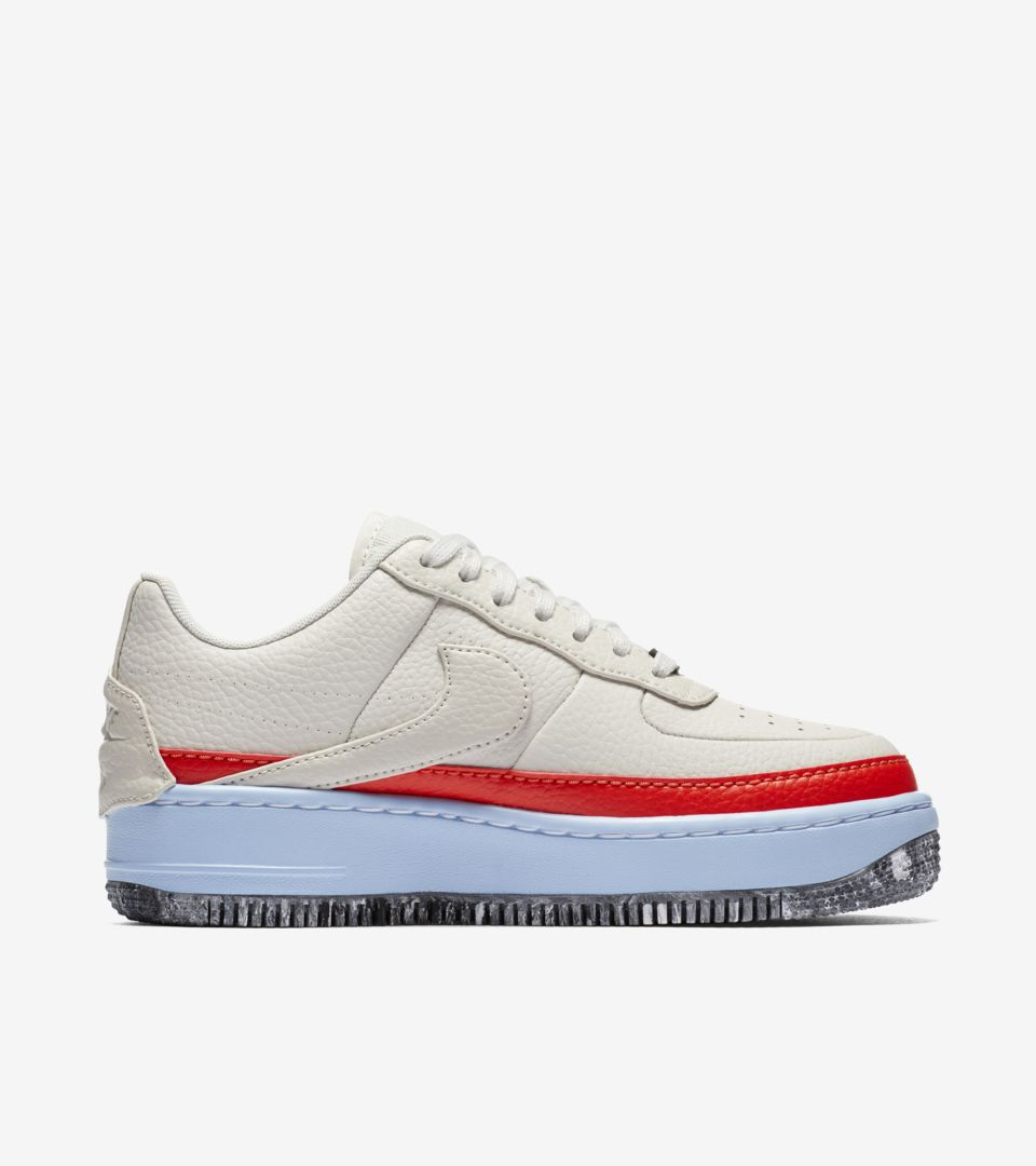 Women s Nike Air Force 1 Jester XX 1 Reimagined  Light Bone  Release ... 3e980de00