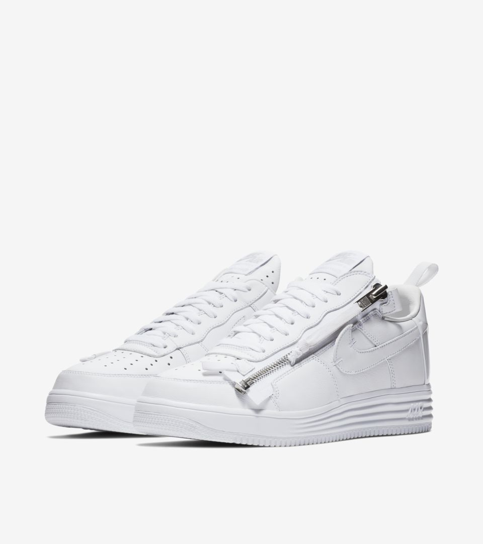 watch 4df12 8e580 Nike Air Force 1  Acronym  Release Date. Nike+ SNKRS