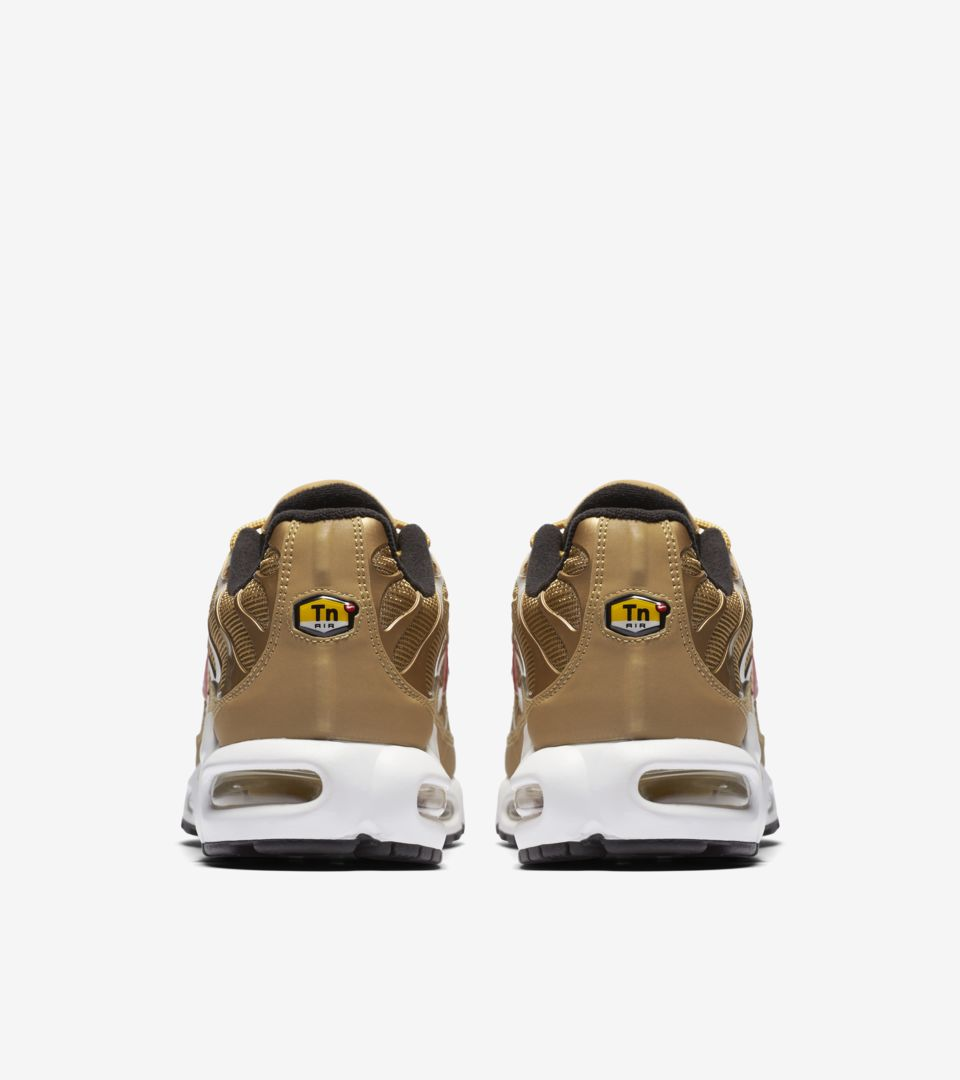 bb7860892c377 Nike Air Max Plus  Metallic Gold  Release Date. Nike⁠+ SNKRS