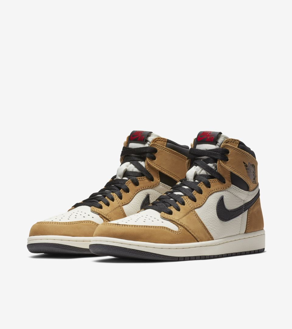 Air Jordan 1 High 'Golden Harvest & Sail & Black' Release Date