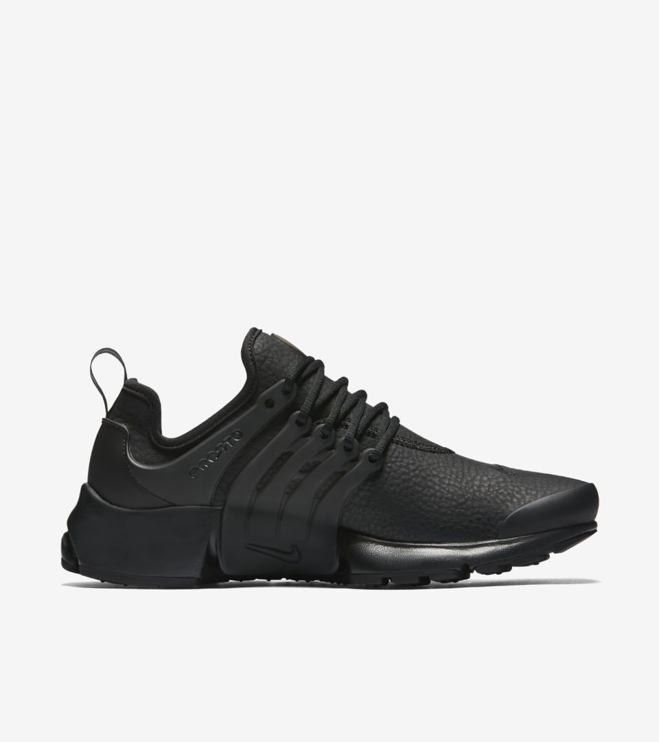huge selection of fe9a3 a8676 Women's Nike Air Presto Premium 'Triple Black'. Nike⁠+ SNKRS