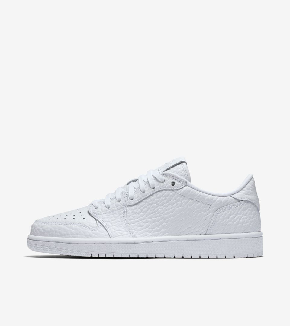55ca535eb23a7a Air Jordan 1 Retro Low NS  Triple White  Release Date. Nike⁠+ SNKRS