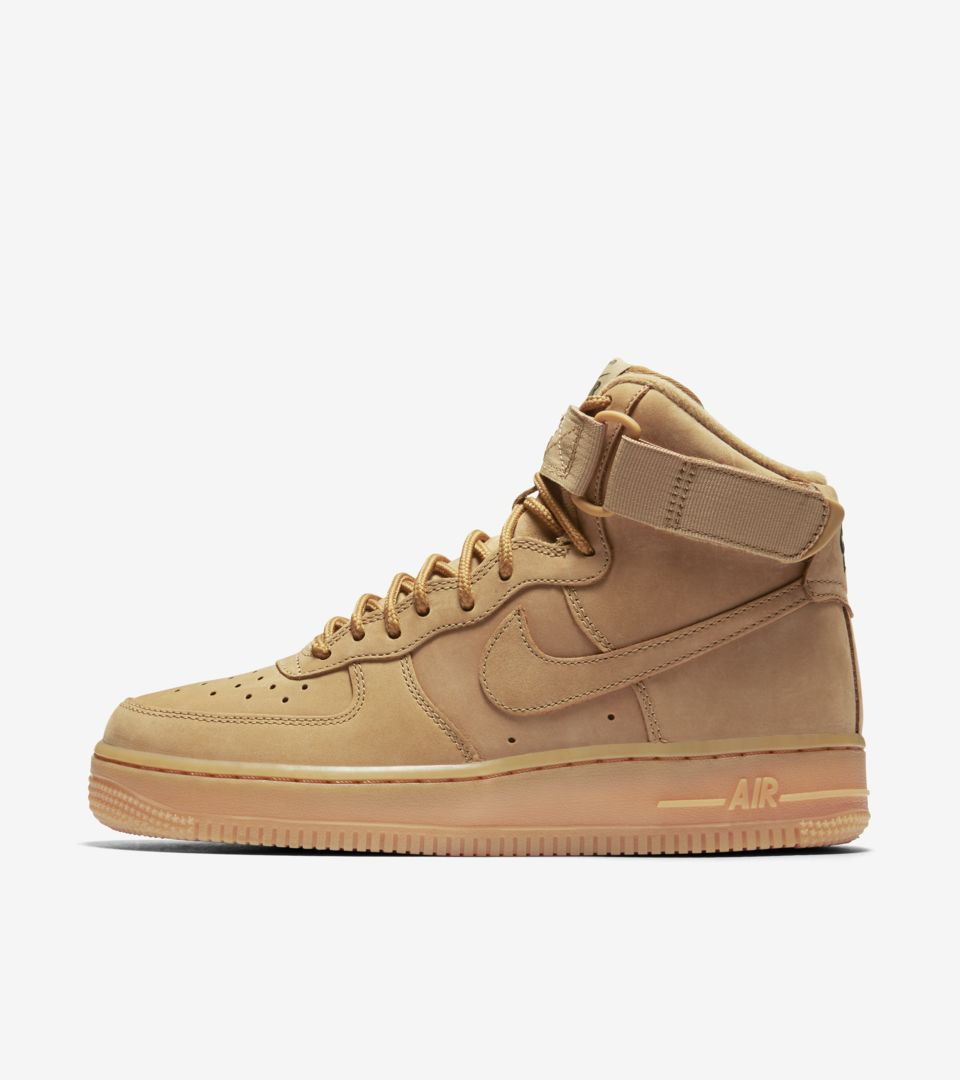 new product f1e86 70f19 Women's Nike Air Force 1 High 'Flax'. Nike⁠+ SNKRS