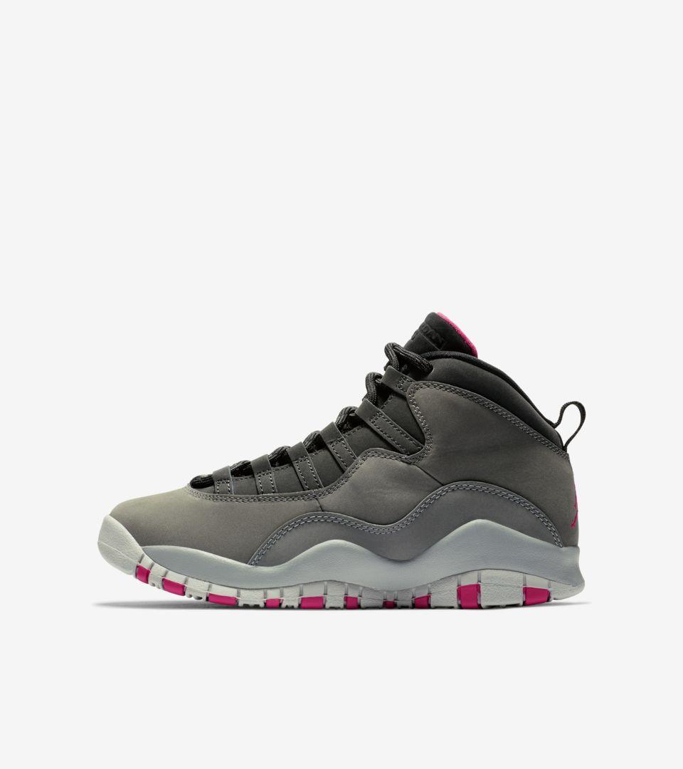 a3ce03ba27cc Air Jordan 10 GG  Dark Shadow Grey  Release Date. Nike+ SNKRS
