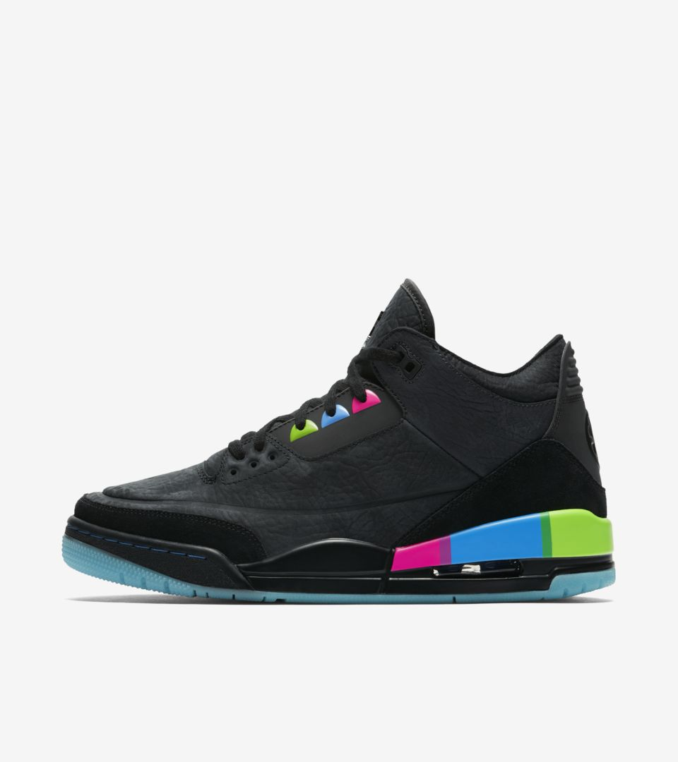 5871b421e503 Air Jordan 3  Quai 54  Release Date. Nike⁠+ Launch GB