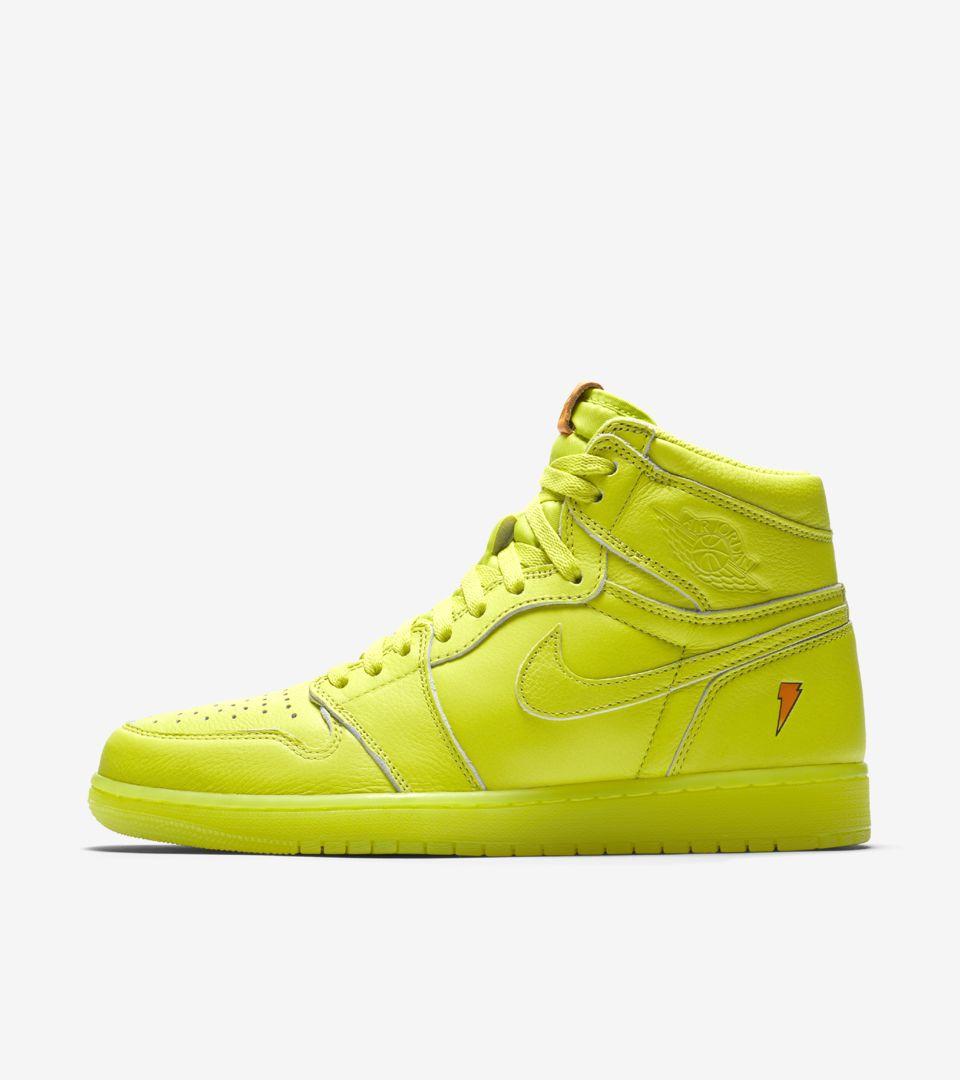 2b02ee105edb Air Jordan 1 High Gatorade  Lemon-Lime  Release Date. Nike+ SNKRS