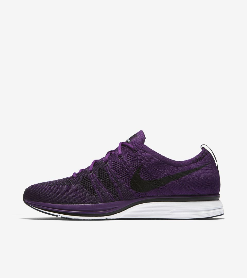 official photos 3dab9 b17b8 Nike Flyknit Trainer  Night Purple  Release Date. Nike⁠+ SNKRS
