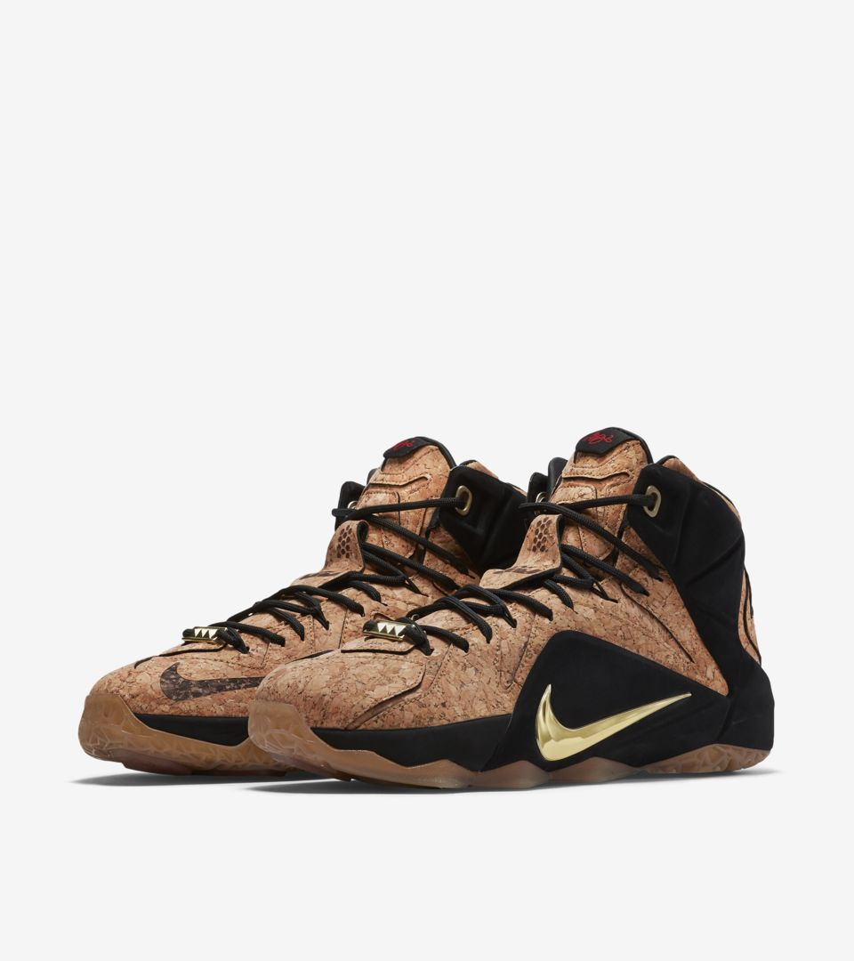 new styles 8d426 56f2a Nike LeBron 12 EXT Kings  Cork . Nike+ SNKRS