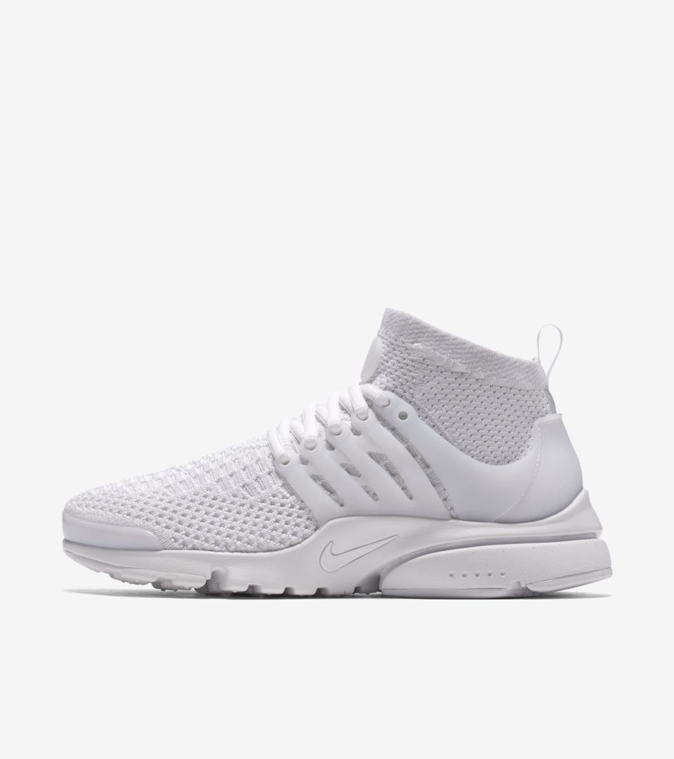 Women's Nike Air Presto Ultra Flyknit 'Triple White' Release Date ...