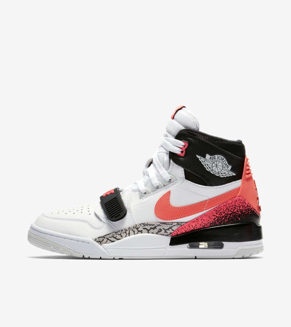 Air Jordan Legacy 312 'White & Hot Lava & Black' Release Date