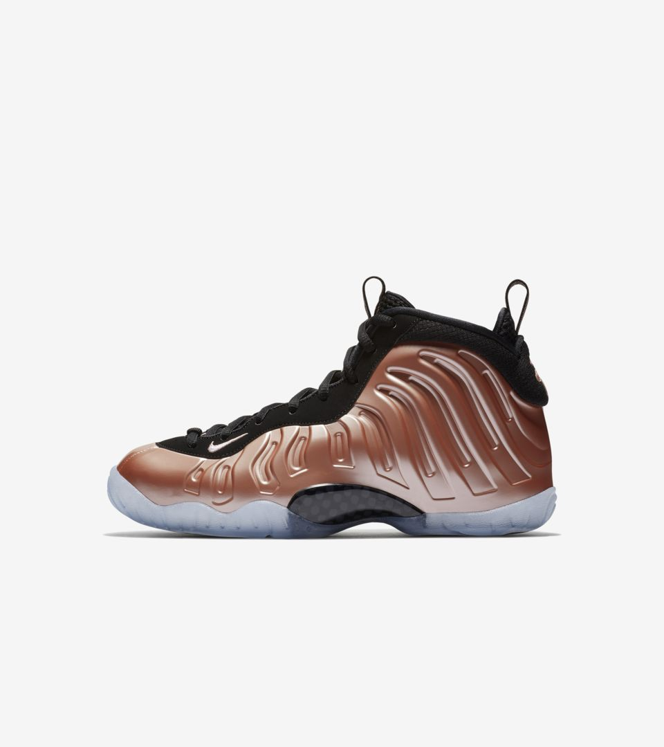 sports shoes ee399 0647b Nike Air Foamposite One  Rust Pink   White  Release Date. LITTLE POSITE ONE  BG