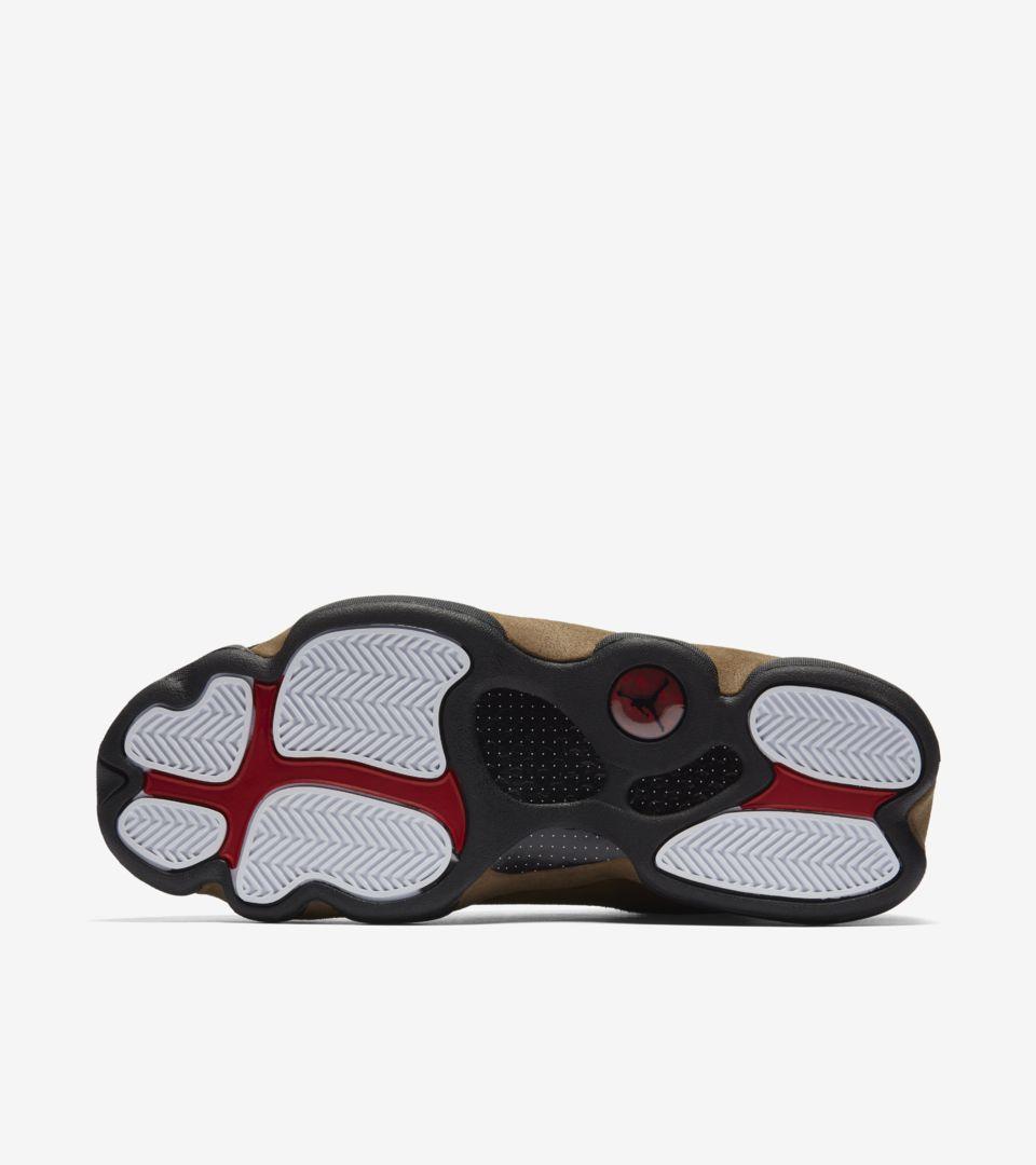 419bfb9a55d2 Air Jordan 13  Black   Olive  Release Date. Nike+ SNKRS