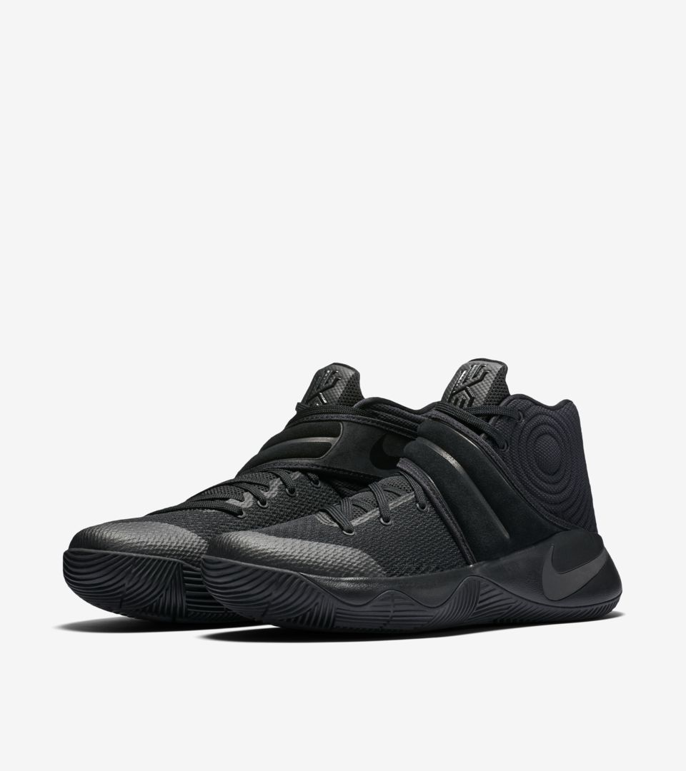 purchase cheap 5ac09 a6c1e Nike Kyrie 2 'Triple Black' Release Date. Nike⁠+ SNKRS