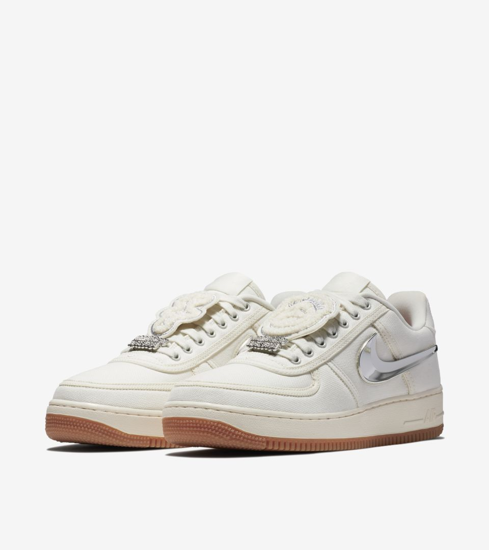 quite nice 9cb16 feac2 ... Nike Air Force 1 Low  Travis Scott  Release Date