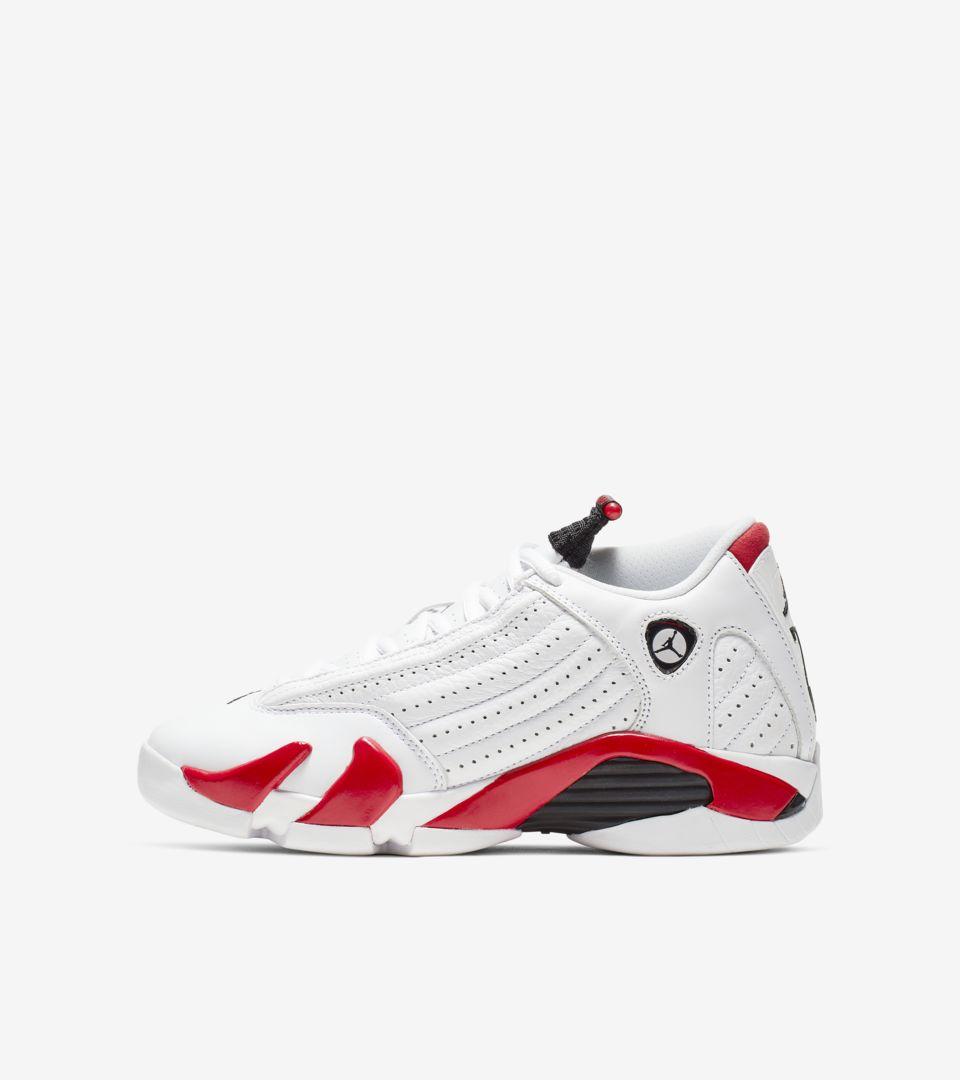 pretty nice e9b87 168b2 Nike Air Jordan 14 'White & Red' Release Date. Nike+ SNKRS
