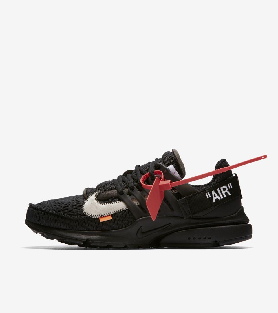 Nike The Ten  Air Presto Off White  Black   Cone  Release Date. Nike ... 0047f2f23