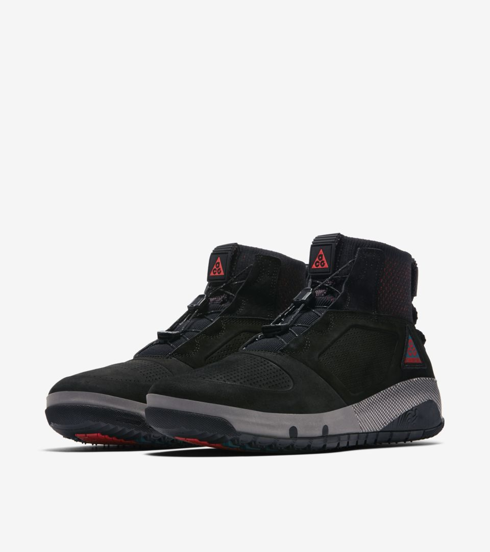 finest selection 147d7 4304c ... Nike ACG Ruckel Ridge  Black   Geode Teal   Habanero Red  Release Date