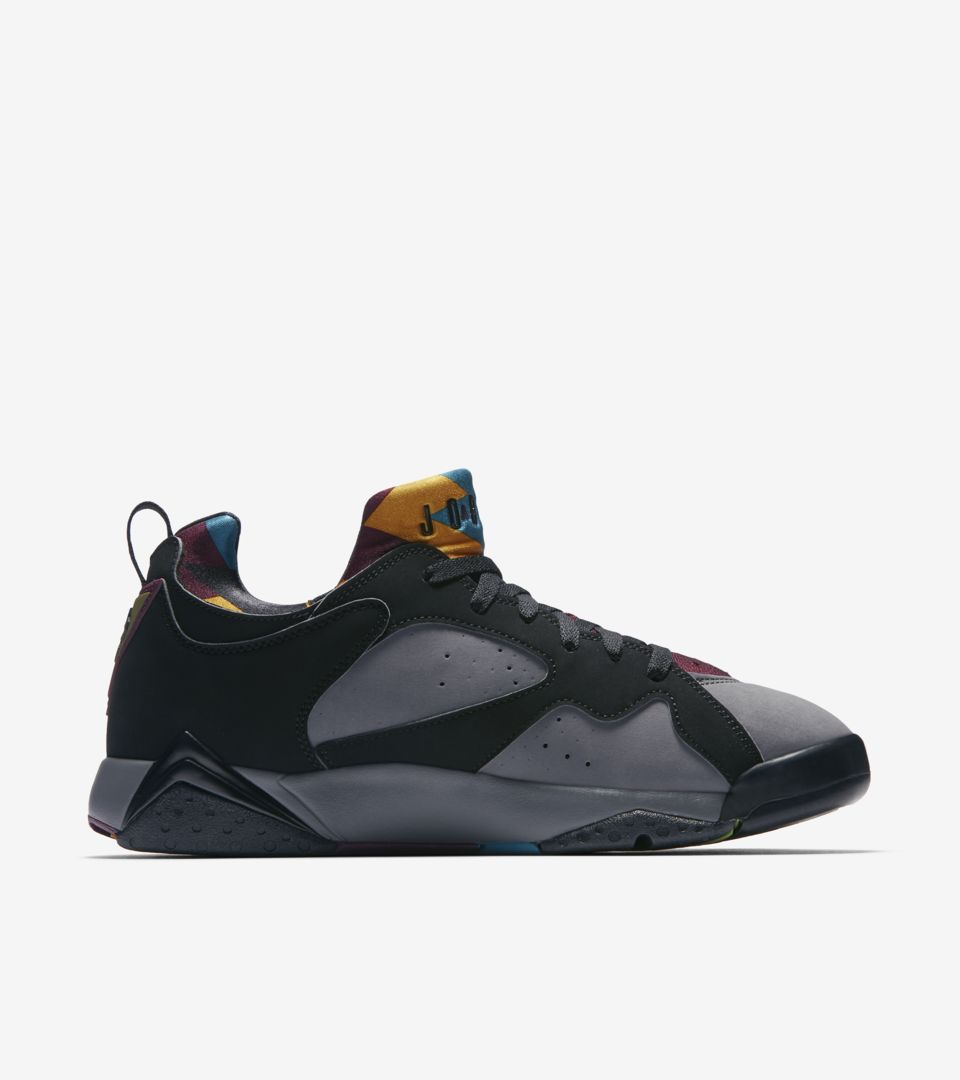 ad768b1b6355 Air Jordan VII Low NRG  Black   Bordeaux  Release Date. Nike+ SNKRS