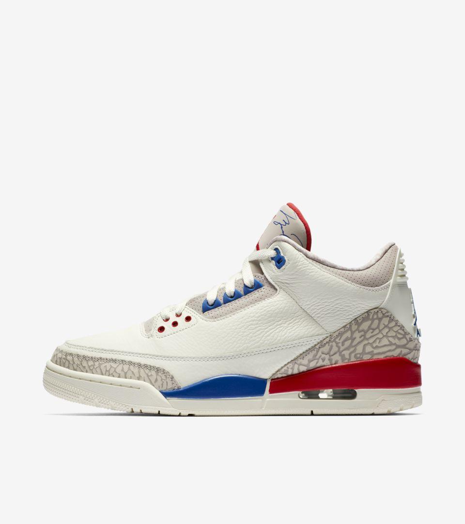 plus récent 50c06 19c6c Air Jordan 3 'Sail' Release Date. Nike+ SNKRS