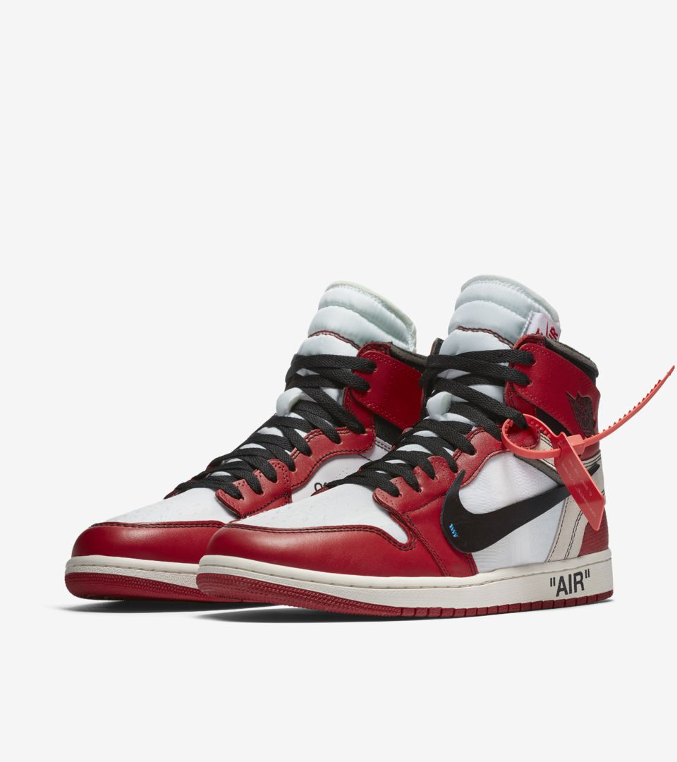 99b1e94c4c952 The Ten Air Jordan 1  Off White  Release Date. Nike⁠+ SNKRS