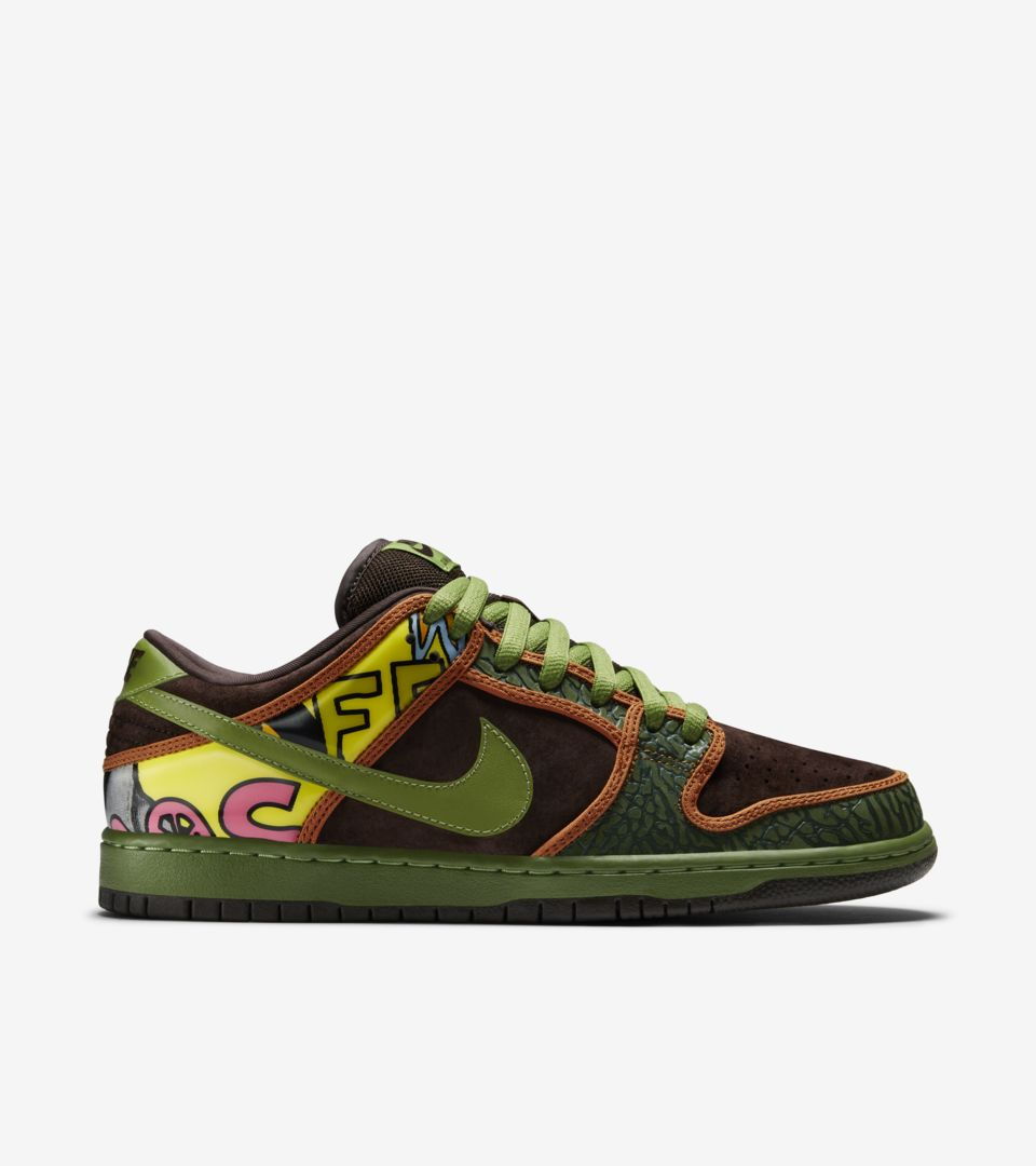 Nike Dunk Low SB 'De La Soul'. Nike SNKRS