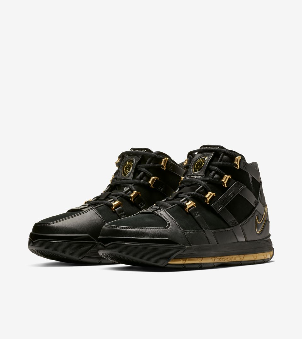 9cccb4ffcf2 Zoom Lebron III  Metallic Gold  Release Date. Nike+ SNKRS