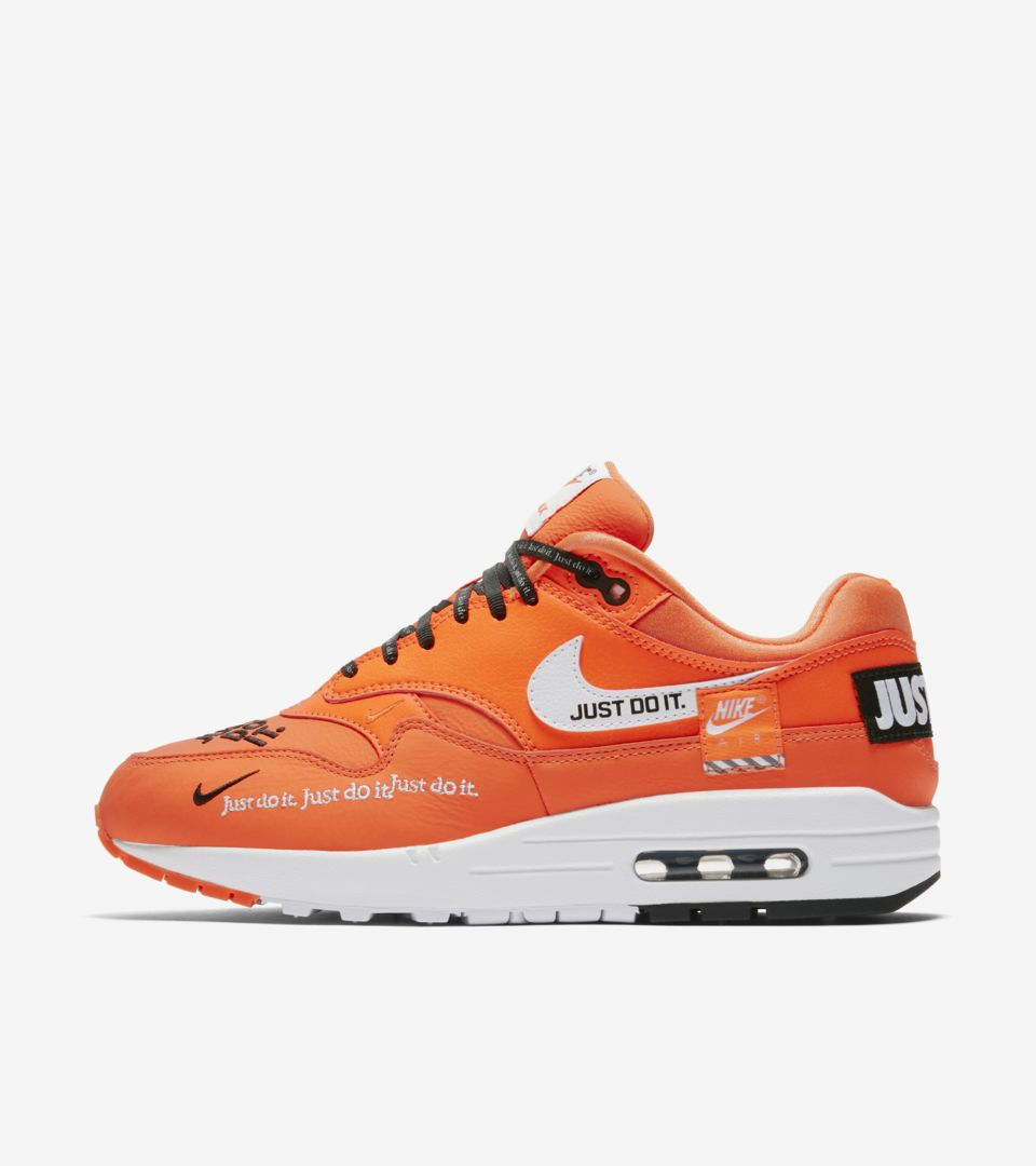 c10ecb526cca Nike Women s Air Max 1 Just Do It Collection  Total Orange  Release ...