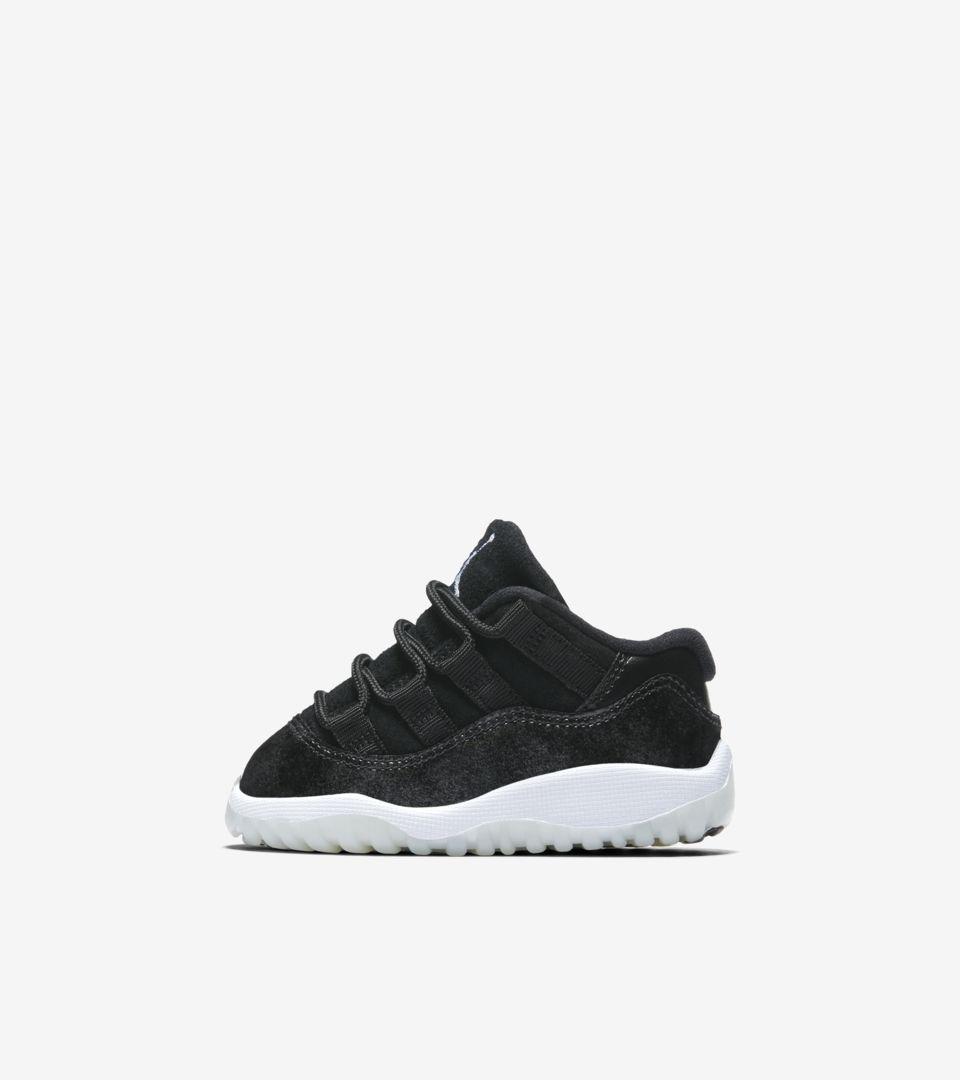 new style dec45 2cb23 Air Jordan 11 Retro Low 'Black & White' Release Date. Nike+ ...