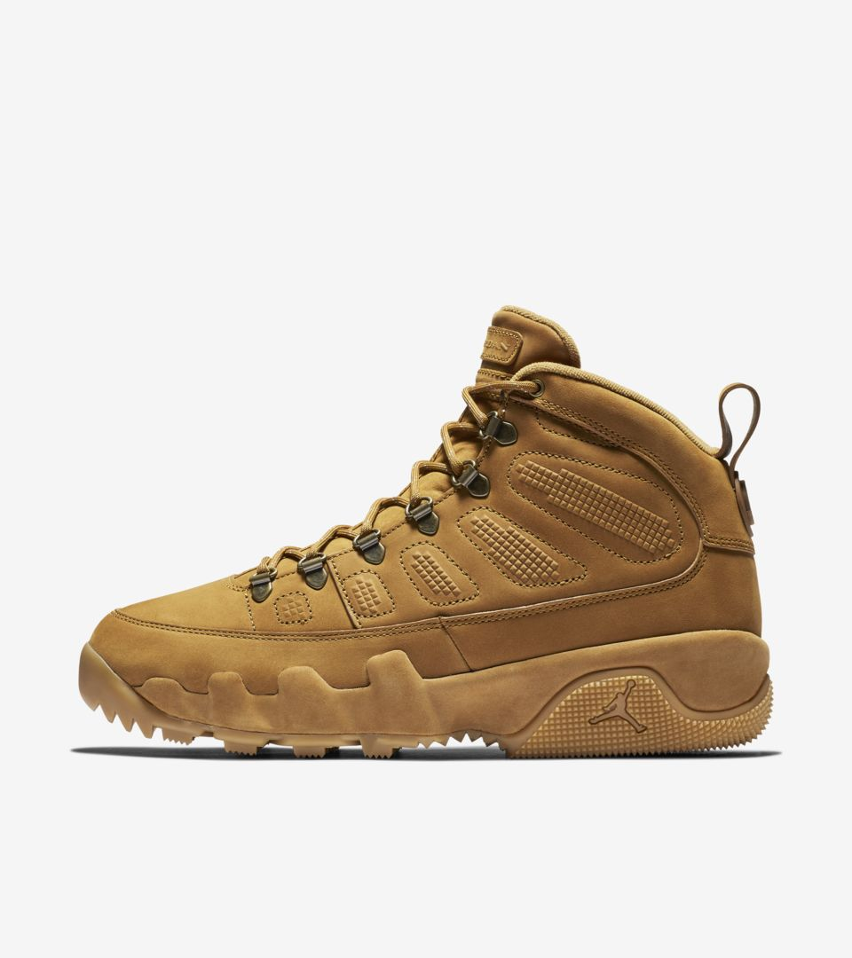 new concept 309b6 10afa Air Jordan 9 Boot  Wheat  Release Date