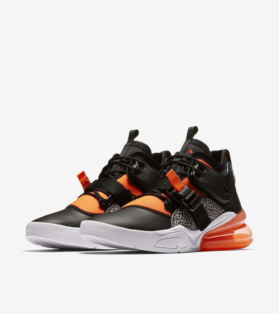 Nike Air Force 270 'Black \u0026 Hyper