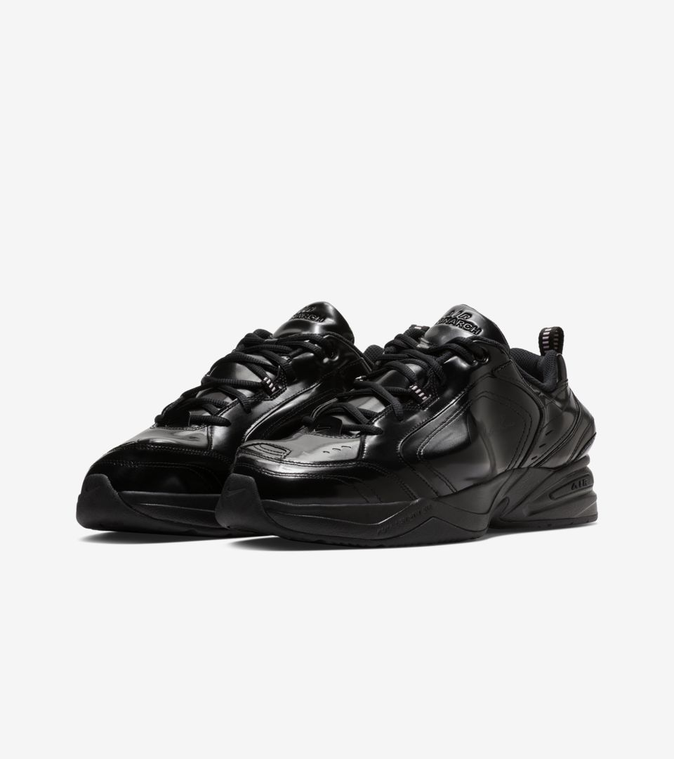Nike Air Monarch 4 Martine Rose 'Black' Release Date
