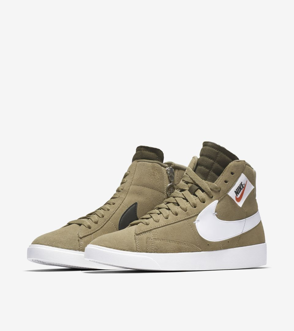 Tormenta cazar Extracción  Women's Blazer Mid Rebel 'Neutral Olive' Release Date. Nike SNKRS
