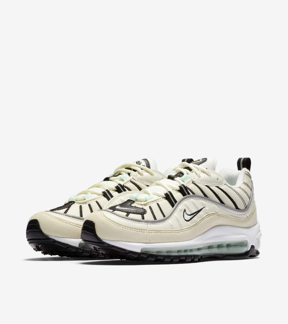 Nike Women's Air Max 98 'Sail & Igloo' — releasedatum ...