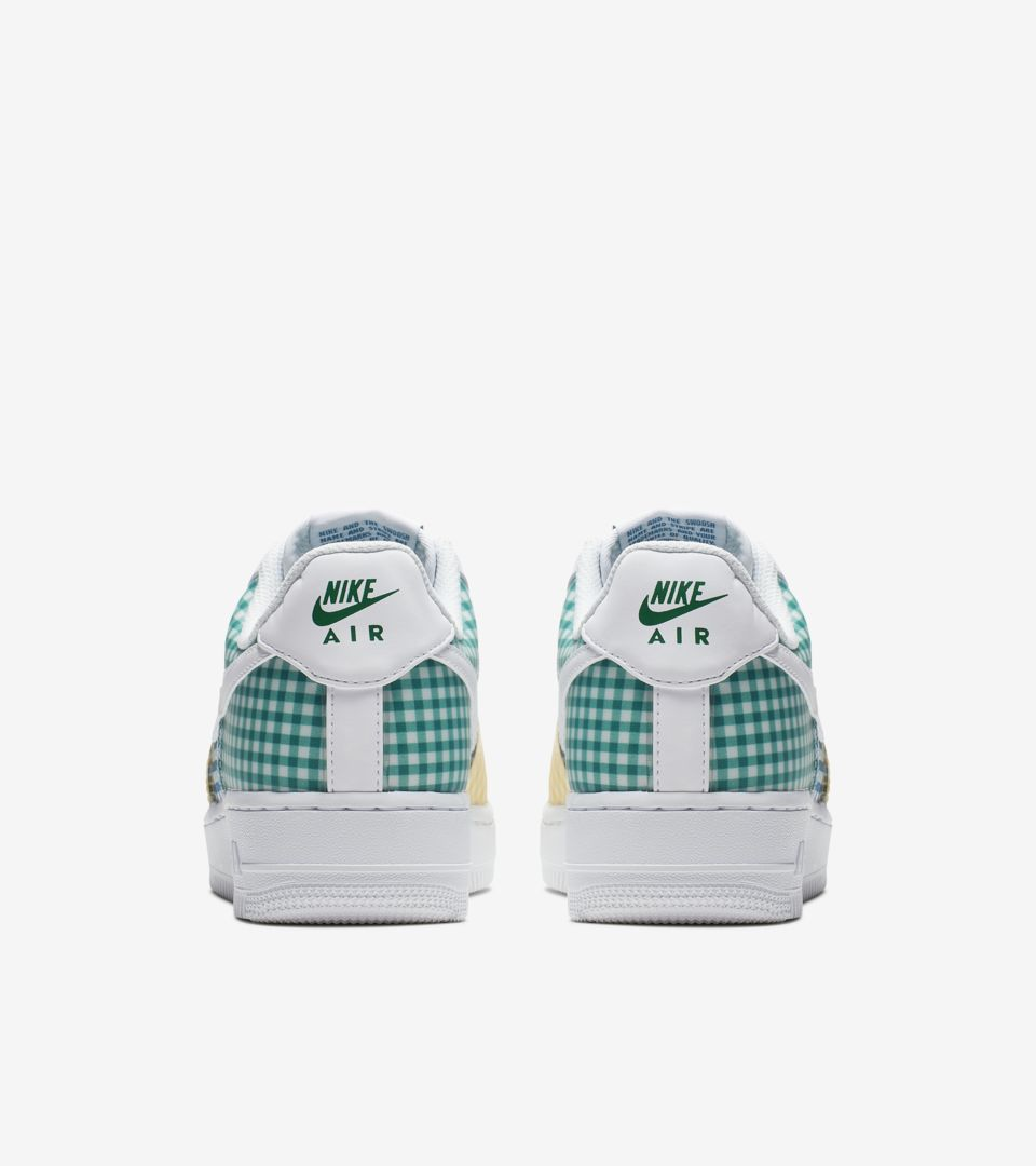 Women's Air Force 1 'Multi Gingham' Release Date