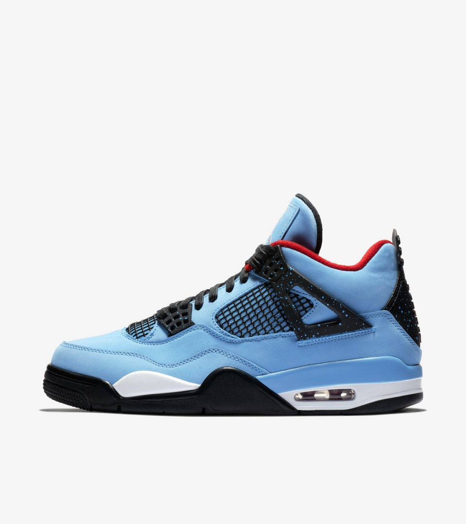 buy popular 8ef74 6952e Air Jordan 4 Travis Scott 'Cactus Jack' Release Date. Nike⁠+ ...