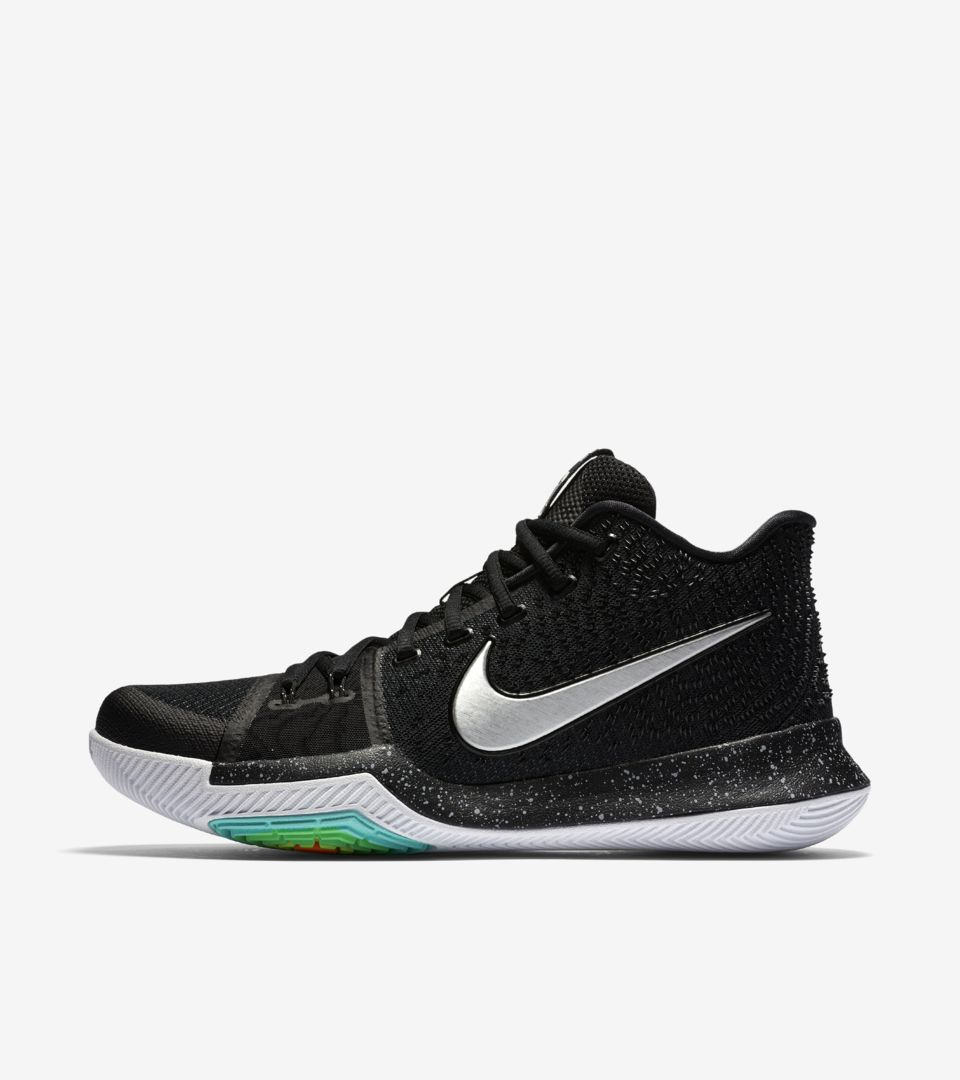 sneakers for cheap 7dbef 836a1 Nike Kyrie 3 'Black & Ice'. Nike⁠+ SNKRS