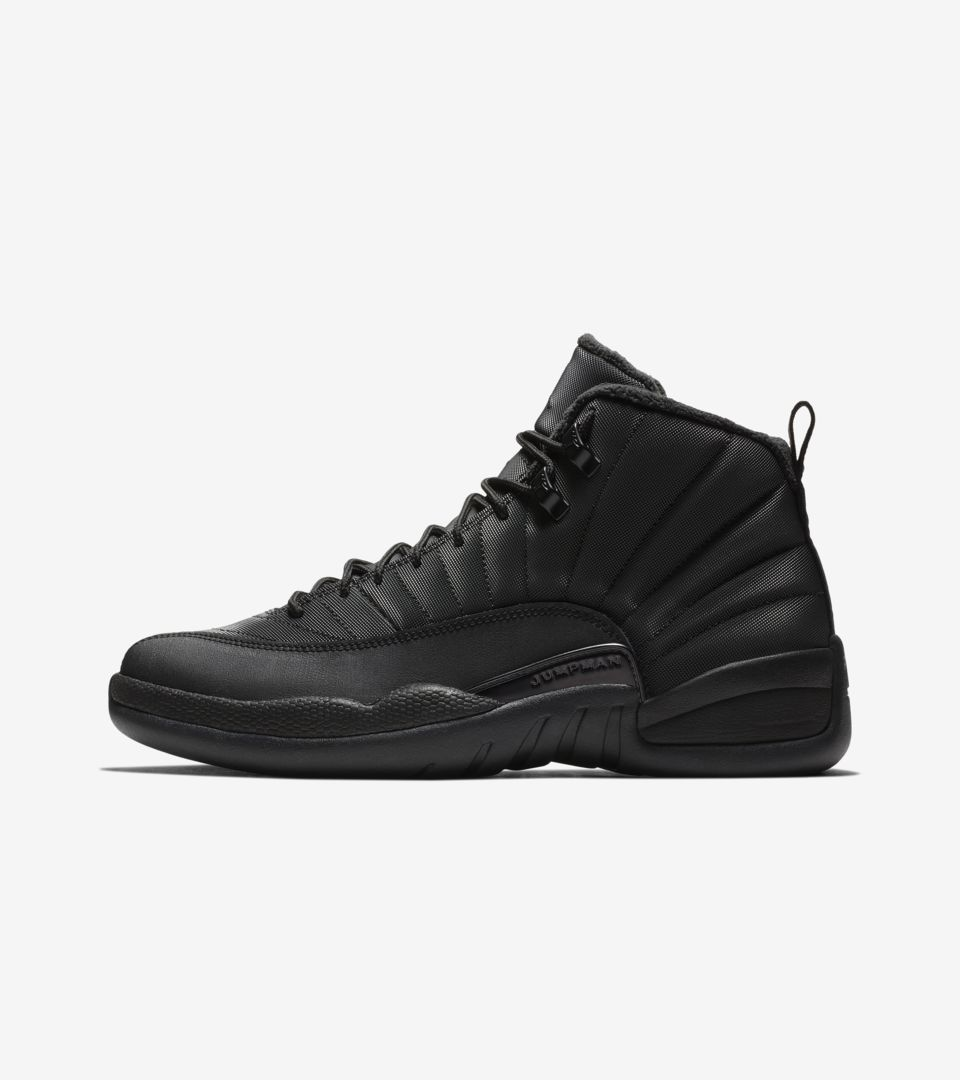 sale retailer 77e37 25530 Air Jordan 12 Retro Winter  Black   Anthracite  ...