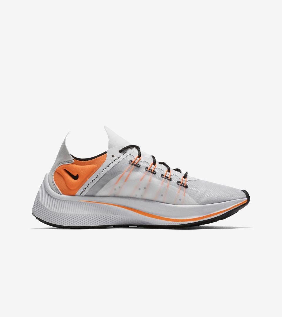 Nike EXP-X14 SE 'White & Black & Wolf Grey & Total Orange' Release Date