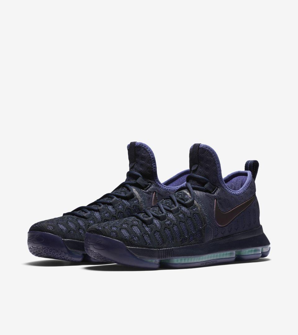 6aa766eb5bd Nike Zoom KD 9  Obsidian   Black  Release Date. Nike+ SNKRS