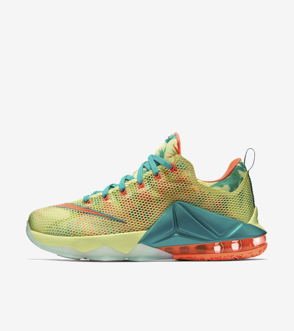 best website 76f83 40086 Nike LeBron 12 Low 'Summer Standard' Release Date. Nike+ SNKRS