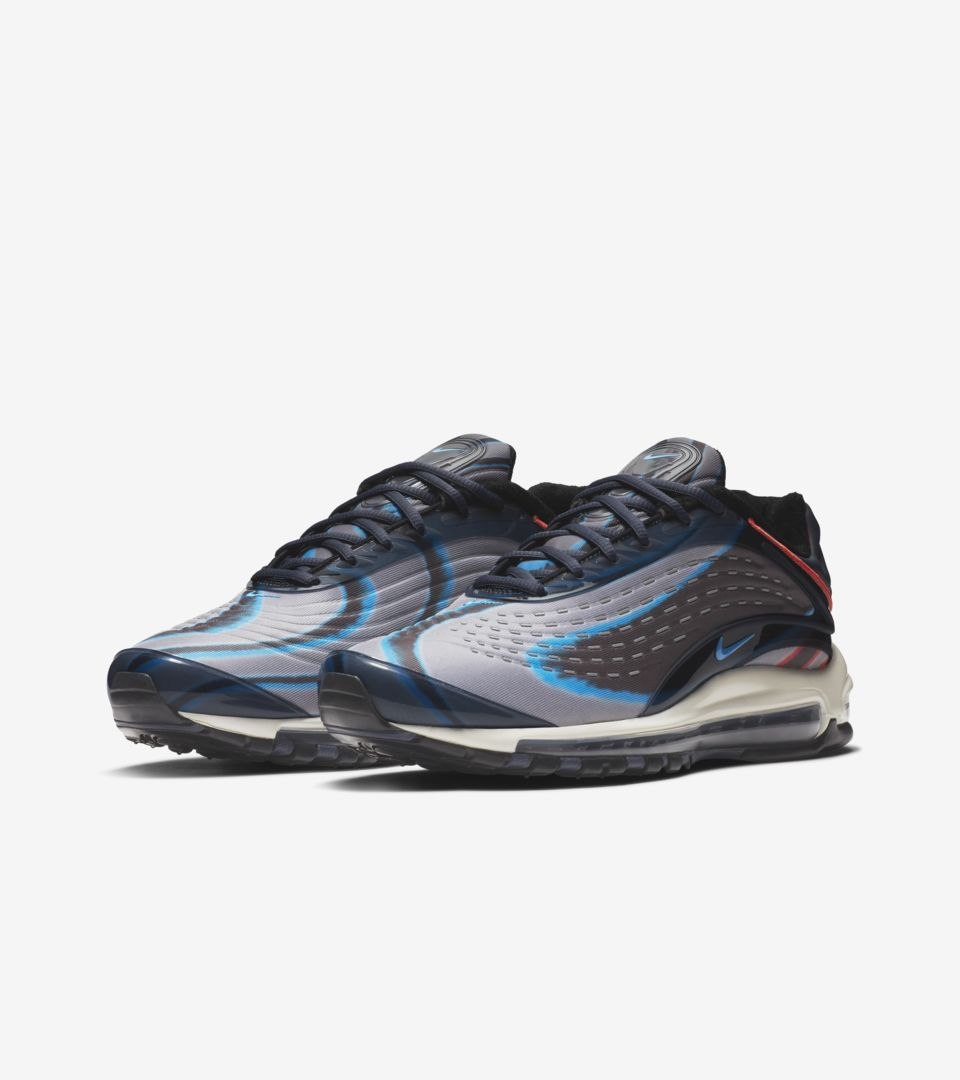 3cbb2065771 Nike Air Max Deluxe  Thunder Blue   Wolf Grey   Black  Release Date ...