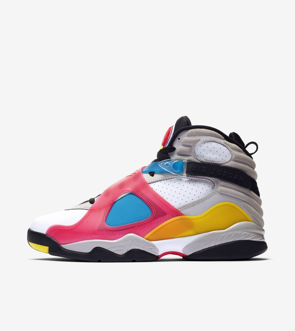 los angeles e55c4 93fa5 Air Jordan 8 'White/Red Orbit' Release Date. Nike⁠+ SNKRS