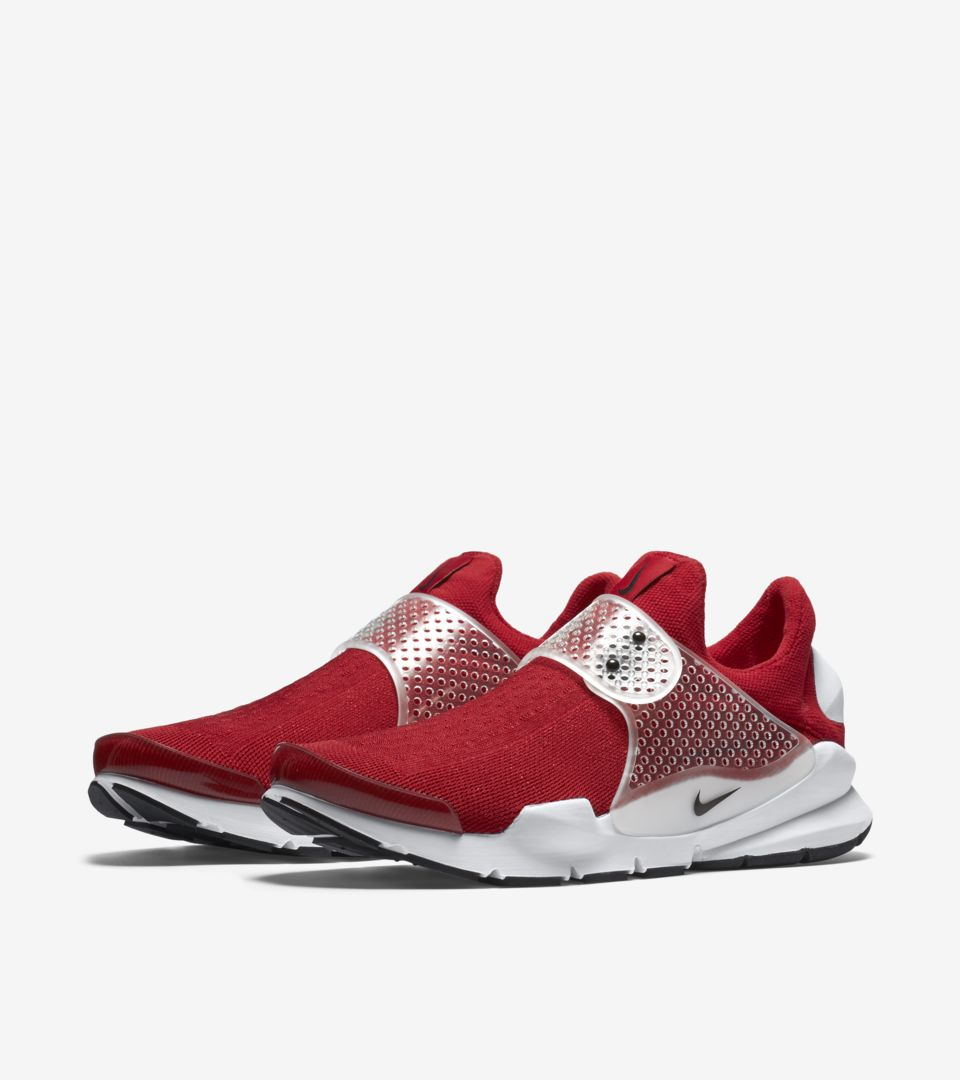 cheap for discount 9039a 6c6ed Nike Sock Dart 'Gym Red & White & Black'. Nike⁠+ SNKRS