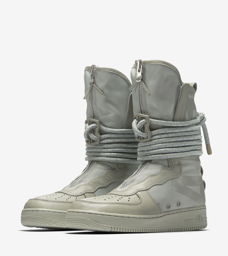 3bb11ec73f1e Nike SF Air Force 1 Hi  Sage  Release Date. Nike+ Launch GB
