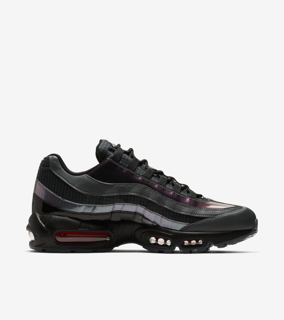 Nike Air Max 95 'Black & Dark Grey & Ember Glow' Release Date