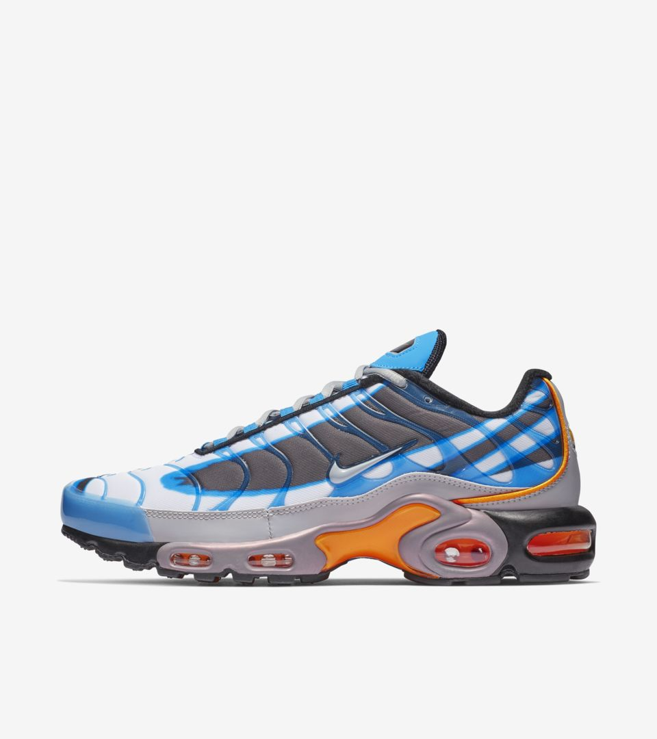 official nike air max plus blue and orange 0c3da cf688