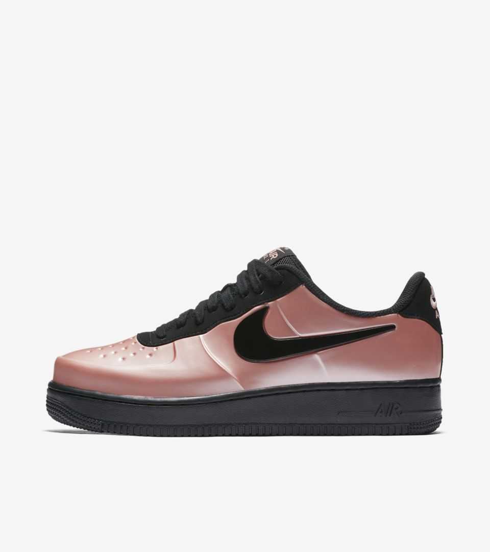 23627479ffa Nike Air Force 1 Foamposite Pro Cup  Coral Stardust   Black  Release ...