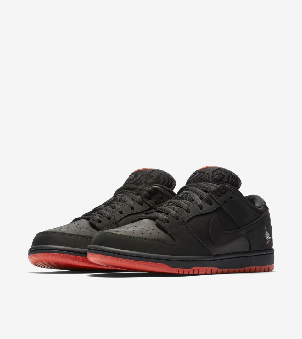 on sale 6e3ec f0bb1 Nike SB Dunk Low Pro 'Black Pigeon' Release Date. Nike⁠+ SNKRS