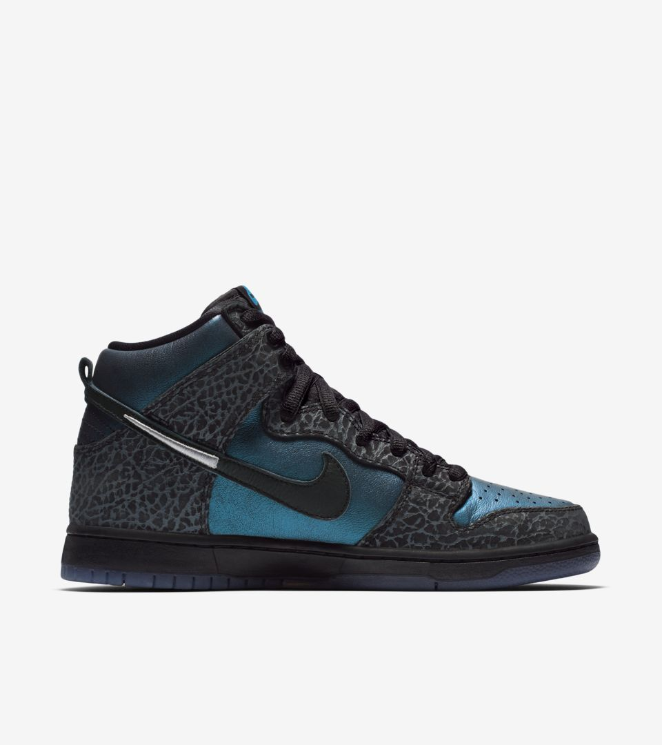 14f8b0ef SB Dunk High Pro 'Black Hornet' Release Date. Nike+ Launch AT