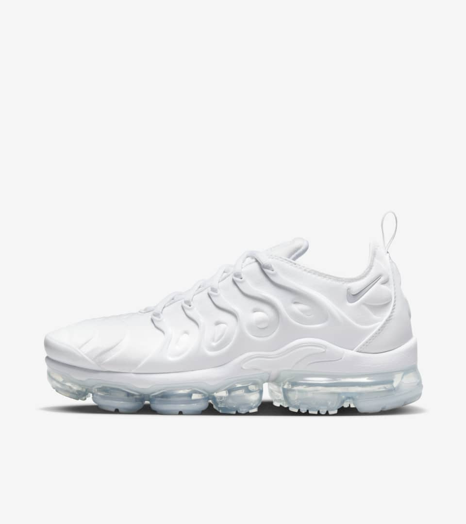 best sneakers 22b9c cde8d Nike Air Vapormax Plus 'White & Pure Platinum' Release Date ...